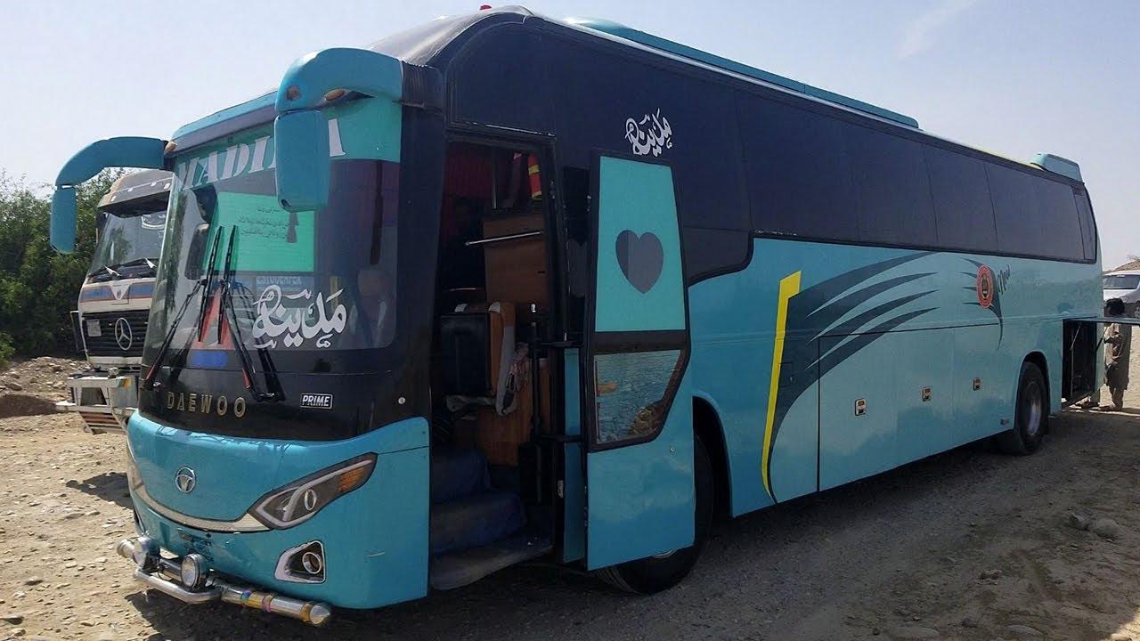 Al Madina Daewoo Bus BH120F |Travel Karachi To Surab | Karachi To Pishan  Service Bus Of Balochistan