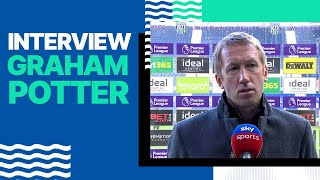 Graham Potter's West Brom Reaction