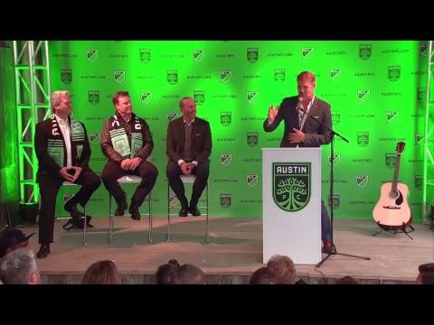 Austin FC: A Legendary Announcement