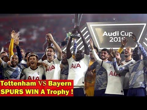 Bayern Munich Vs Tottenham 2 2 5 6 On Penalties Audi Cup Trophy Memes Youtube