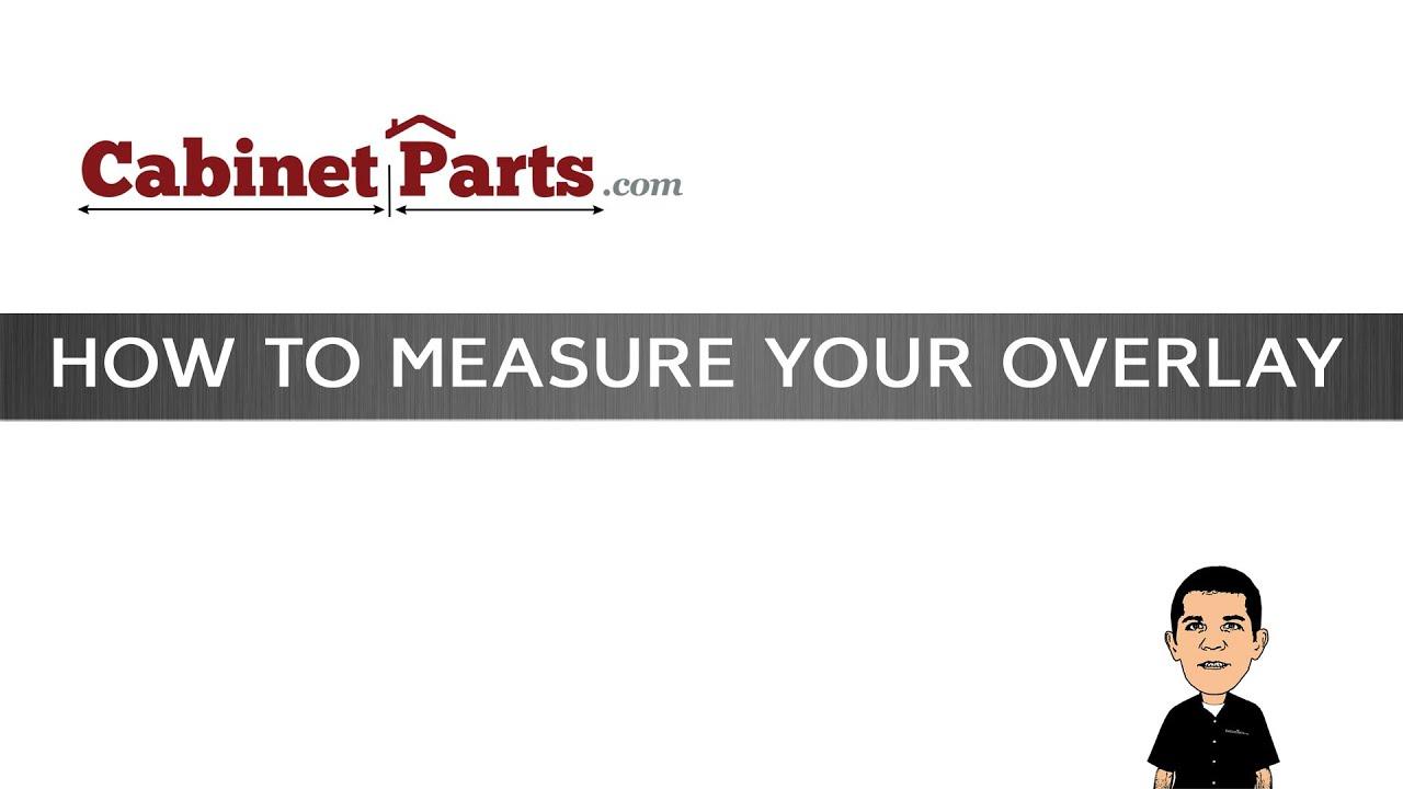 How to measure cabinet doors - How To Measure Your Cabinet Door Overlay