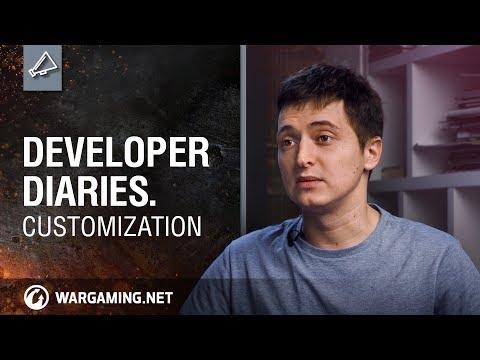 World of Tanks - Developer Diaries: Customization