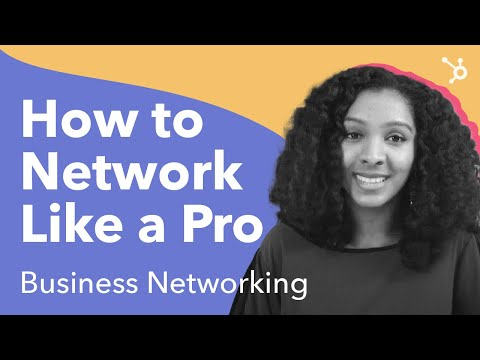How To Network Like A Pro. (Business Networking )