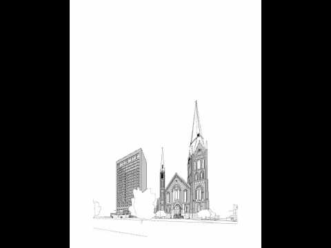 "Calvary Presbyterian Church ""The Big Red Church"" - Animation"