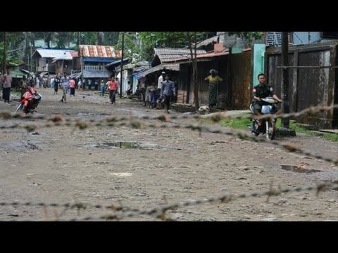 Muslims trapped in ghetto after Myanmar violence