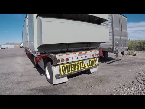 #305 OverSize Load Is It Worth It The Life Of An Owner Operator Flatbed Truck Driver