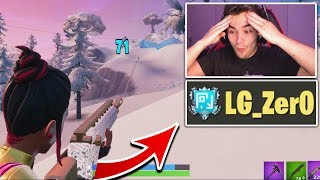 I died and spectated a FAKE LG PRO Fortnite Player! - (Should I recruit him?)
