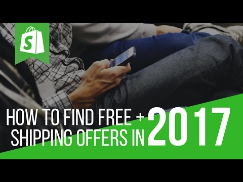 FREE + SHIPPING SHOPIFY TUTORIAL