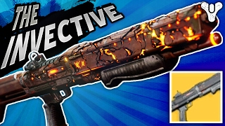 I Forgot This Regenerated Ammo!! The Invective Exotic Shotgun | Destiny (Rise of Iron) Year 3