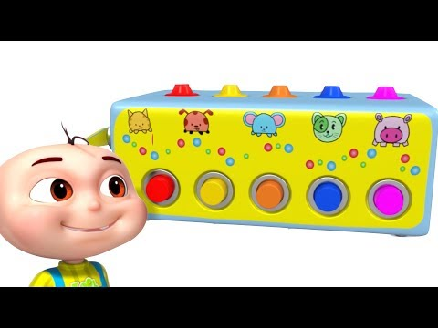 Learn Colors With Confetti Machine & Many More   Colour Learning For Kids   Videogyan Fun Videos