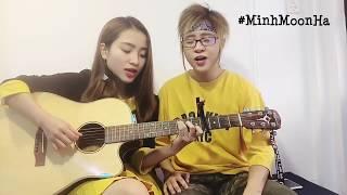 Lắng nghe nước mắt | Guitar cover- Minh Moon Hà ft Thạch Thảo