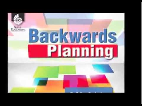 Backwards Planning Youtube