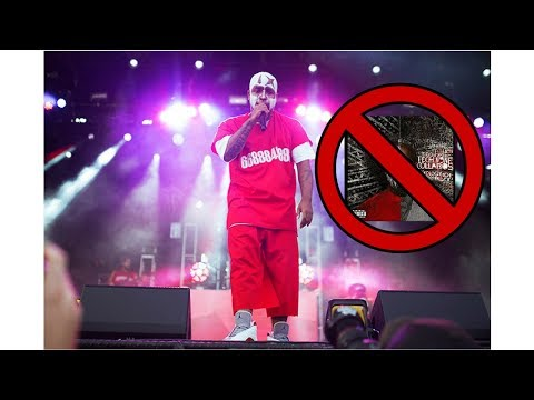 Why Tech N9ne can't preform areola Live anymore