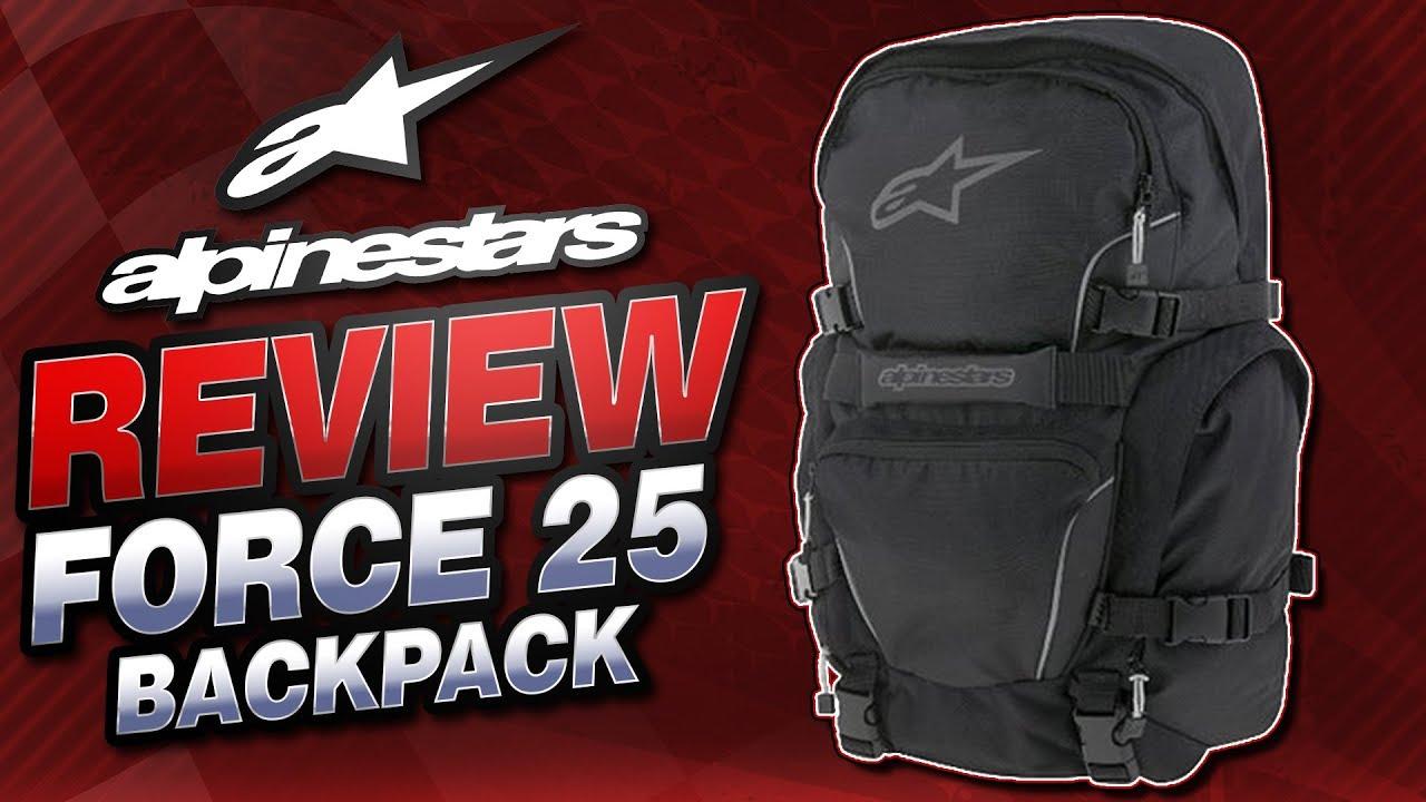 Alpinestars Force 2016 Gear Backpack Black//Gray//Silver