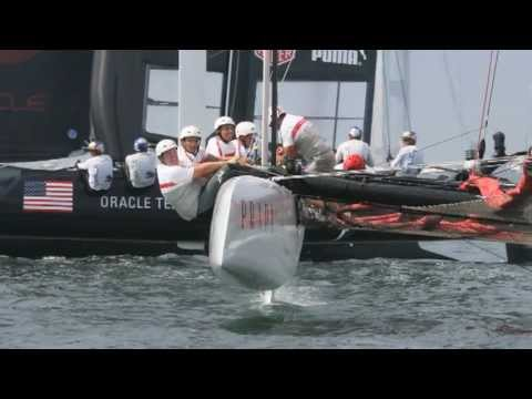 Final day of racing: America's Cup World Series in Newport