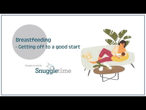 Ways to get Breastfeeding Off and away to an excellent start