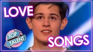 POWERFUL LOVE SONGS! Emotional Moments & MORE On Britain's Got Talent & American Idol | Top Talents