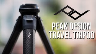 NEW Peak Design Travel Tripod HANDS-ON EXPERIENCE for Photo & Video!