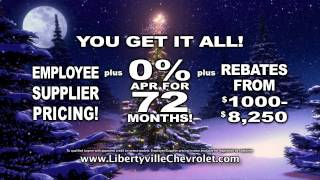 libertyville chevrolet holiday tv commercial