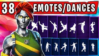 "CHROME COLLECTION SHOWCASE - BRAND NEW ""CHROMIUM"" SKIN with 38 Dances/Emotes 