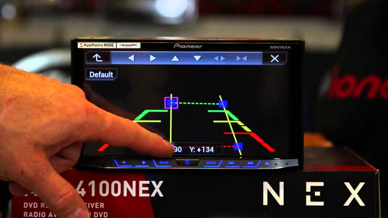 LICENSE REAR VIEW //REVERSE //BACK UP CAMERA FOR PIONEER MVH-1400NEX MVH1400NEX