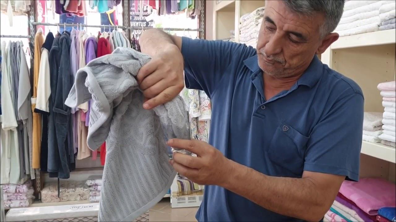 Турецкий Базар в Окурджалар Без Покупателей.