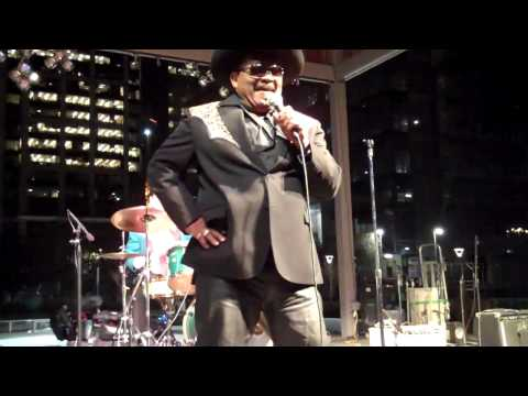 Archie Bell Sings The Tighten Up At Annise Parker Inauguration Celebration