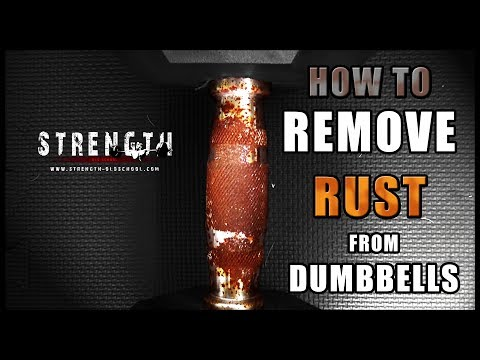 How to Remove Rust from Dumbbells