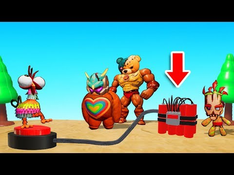 GANG BEASTS + DYNAMITE = THIS GAME! (MisBits)