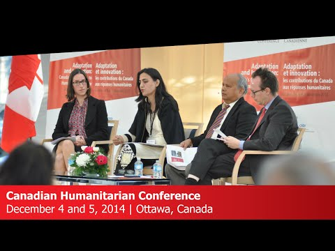 WEBCAST: Canadian Humanitarian Conference - Mainstreaming Disaster Risk Management
