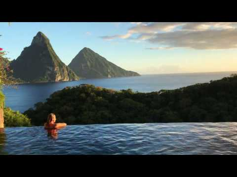 Hotel Jade Mountain - St Lucia