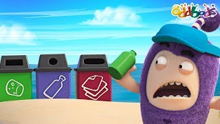 Oddbods | RECYCLE | Earth Day | Funny Cartoons For Children