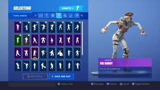 *NEW* FORTNITE CRACKABELLA SKIN WITH ALL MY EMOTES!
