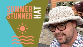 Crochet Summer Stunner Hat   INTERMEDIATE   The Crochet Crowd