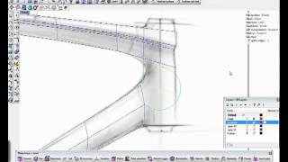 Build a bike frame using T-Splines for Rhino