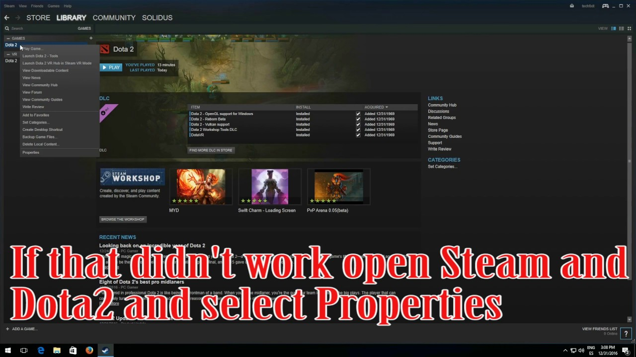 how to fix steam game already running error