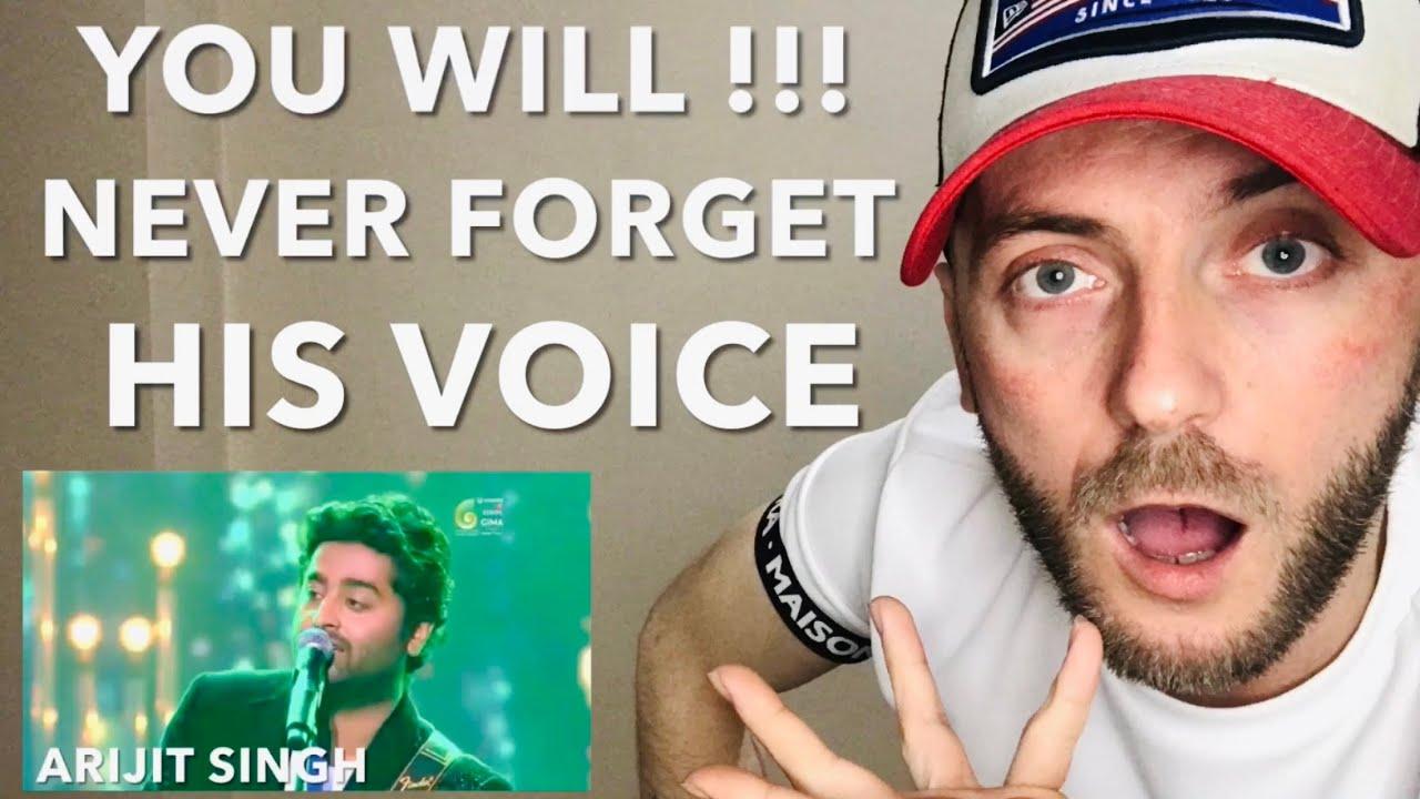 🇬🇧UK RAPPER First Time Reacting To Arijit Singh  - Live At GIMA Awards ( 2017 )