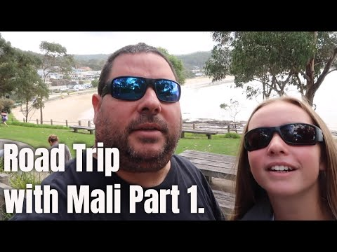 Great ocean Road trip with Mali.