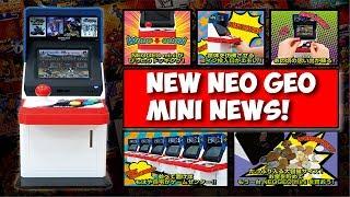 Neo Geo Mini News! New Pedestal & Neo Geo Bartop Information!