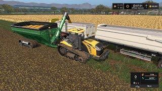 Farming Simulator 17 Timelapse #25 | Southern Cross station ( Australia }