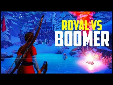 Darwin Project - Survival Battle Royale - Royal vs Boomer!