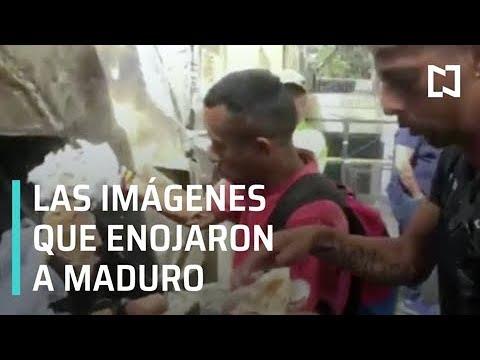 El vídeo que provocó que Maduro interrumpiese una entrevista con un periodista