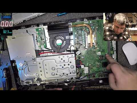 Dell Optiplex3011AIO – no power, motherboard repair