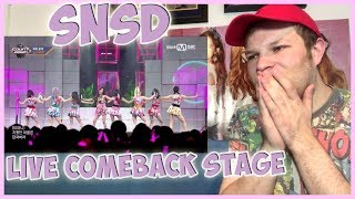 Video Girls' Generation - Holiday & All Night Live Comeback Stage Reaction download MP3, 3GP, MP4, WEBM, AVI, FLV Agustus 2017