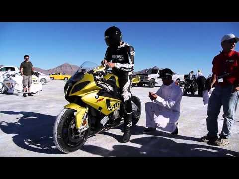SHIVA's Short Film on 'San Jose BMW' Racing S1000RR at Bonneville Salt Flats   HD