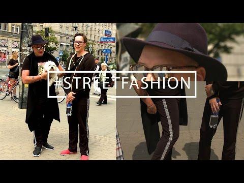 Spodnie własnego projektu i znalezione okulary #STREETFASHION