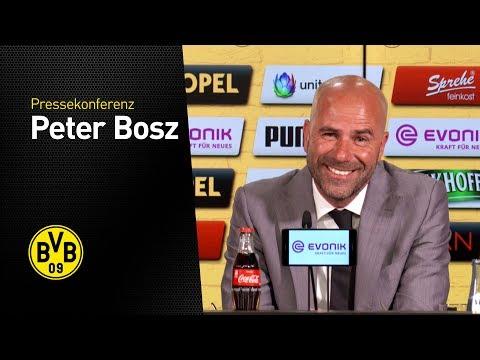 Pressekonferenz: Vorstellung Peter Bosz