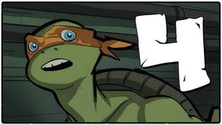 ВОЛНА РОБОТОВ! (TMNT: Out of the Shadows) #4