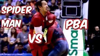 "PBA PHILIPPINE CUP 2019 FINALS ""SPIDERMAN INCIDENT""| SINONTOK NI TUBID SI SPIDERMAN| REACTION VIDEO"