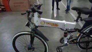 Hummer - Складной китайский электровелосипед  - made in China